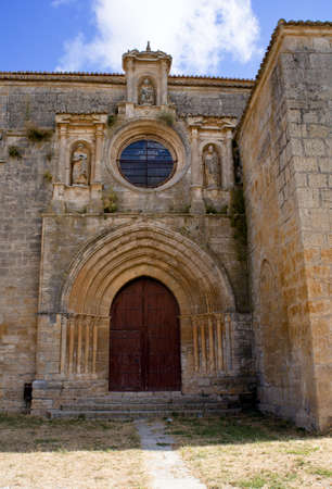 Collegiate Church of Nuestra Senora del Manzano, Castrojeriz Stock Photo - 9491958