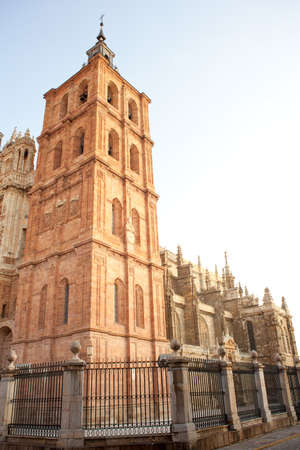 The Cathedral of Astorga, Spain photo