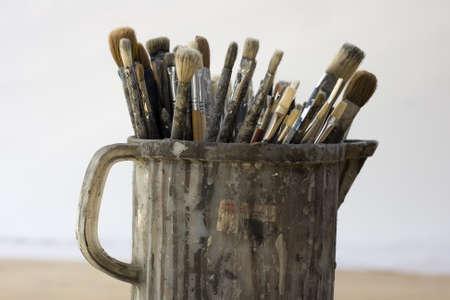 Paintbrushes Stock Photo - 9813531