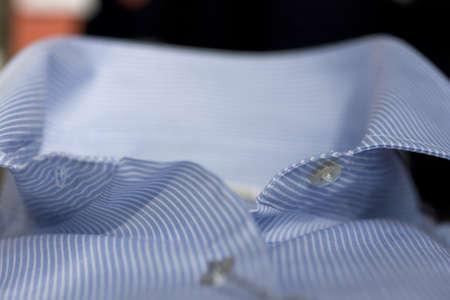 Kragen eines Hemdes Standard-Bild