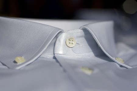 Collar of a shirt photo