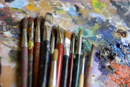 opera d 'art: Paintbrushes
