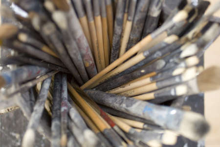 Paintbrushes photo