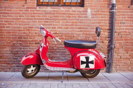Vespa, italian scooter Banque d'images