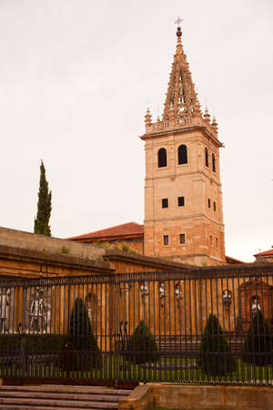 Bell tower of a church,  Asturias - Spain Stock Photo - 9936857