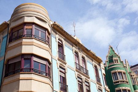 costruction: Building in Gijon, Asturias - Spain
