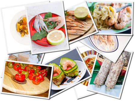 Food postcards photo