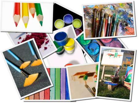 Cartes postales de couleurs