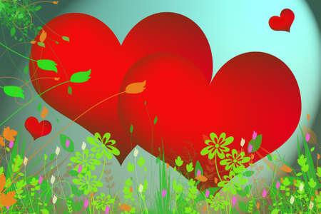 Hearts Stock Photo - 9936843