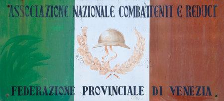 solemnity: Bandiera italiana in memoria dei veterani
