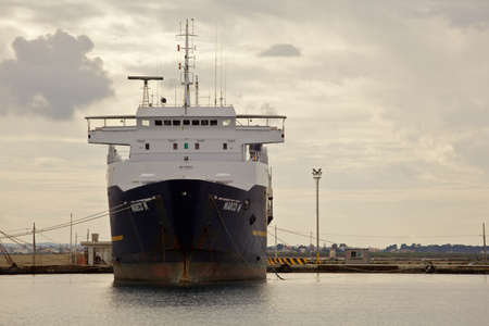 trapani: Ship in Port, Trapani Editorial