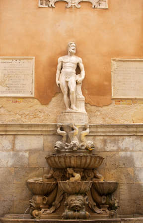 trapani: Fountain of Saturn, Trapani