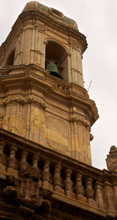 trapani: Bell tower of Cathedral, Trapani Stock Photo