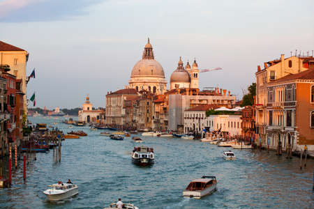 rural town: The Basilica of St. Mary of Health in Venice Editorial
