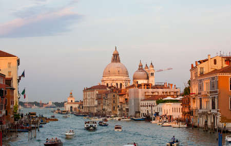 The Basilica of St. Mary of Health in Venice