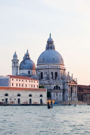 The Basilica of St. Mary of Health in Venice photo