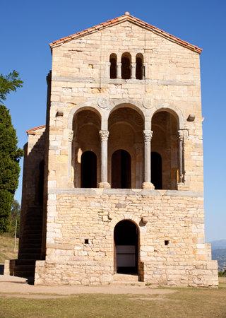 pre romanesque: Santa Maria del Naranco, Oviedo - Asturias, Spain Editorial