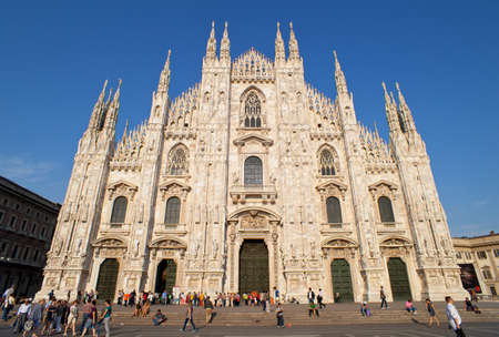View of the Milan cathedral Stock Photo - 10004502