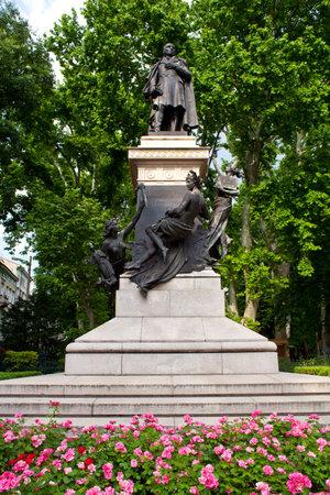 trieste: Domenico Rossetti monument, Trieste