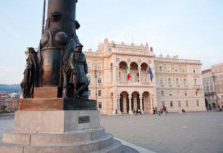 trieste: Statue of a soldier, Trieste