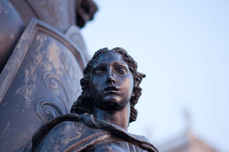 trieste: Woman statue, Trieste