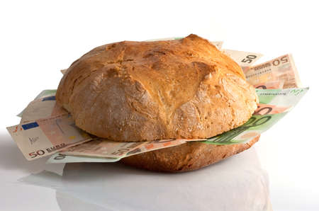 Bread with bills