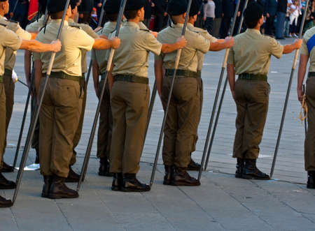 Marching soldiers Stock Photo - 10007148
