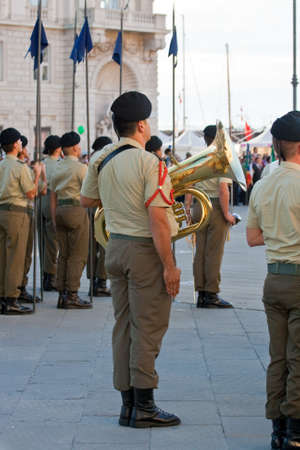 Soldiers, Musical band Stock Photo - 10007093
