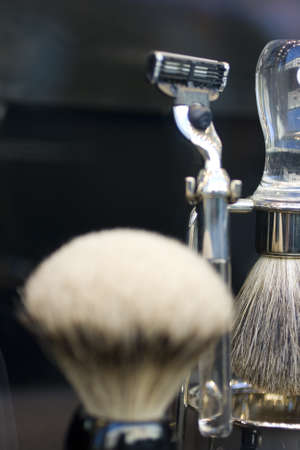 shaving brush Stock Photo - 9937039