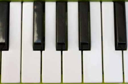 re do: Piano keyboard Stock Photo