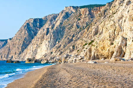 clearness: Platia Amos beach, Kefalonia, Greece