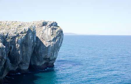 Cliff, Nueva de Llanes. Spain photo