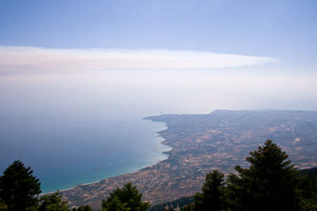 kefalonia: Landscape of Kefalonia. Greece Stock Photo