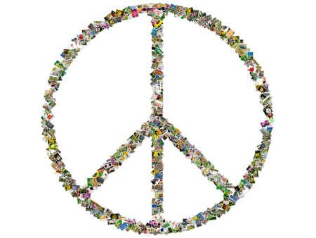 Peace sign Stock Photo - 10521450