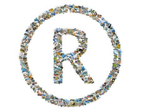 Registered trademark symbol Banque d'images