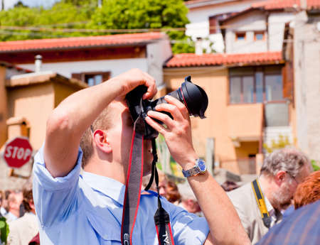 A Photographer take a picture  Stock Photo - 10444191