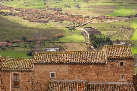 View of Sperlinga, Sicily - Italy Stock Photo - 10585099