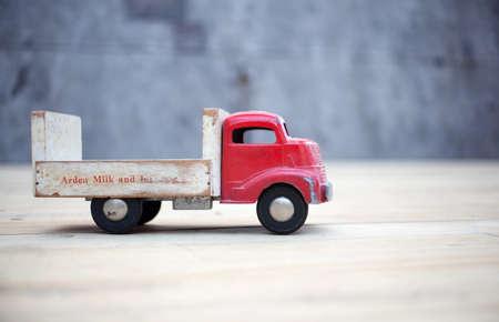 Vintage camion jouet Banque d'images