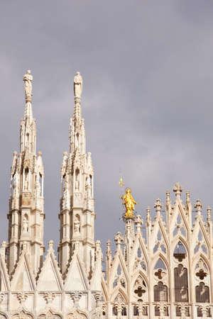 Duomo di Milano - Milan cathedral, Italy photo