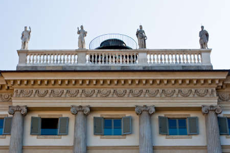 balustrade: Balustrade in Milan
