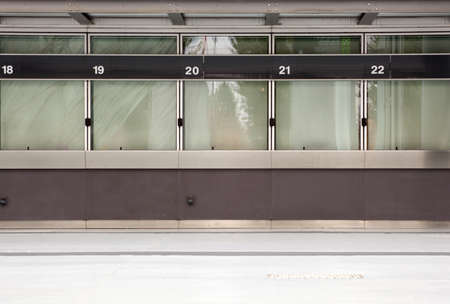 Empty ticket window Stock Photo - 10592737