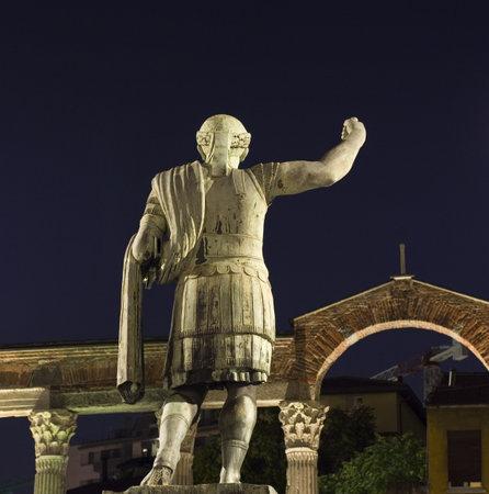 constantine: Statue of Emperor Constantine, Milan