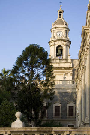 Bell tower, Catania cathedral - Italy