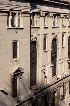 neocl�sico: Edificio de estilo neocl�sico en Trieste
