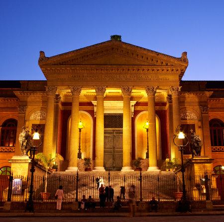Teatro Massimo, der Oper in Palermo - Italien