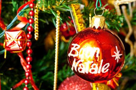 presepio: Christmas balls