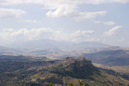 View of Calascibetta photo