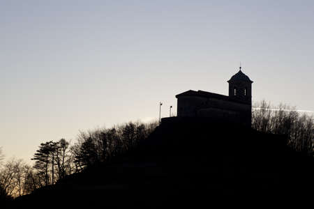 snows: Saint Mary of the snows church in Slovenia