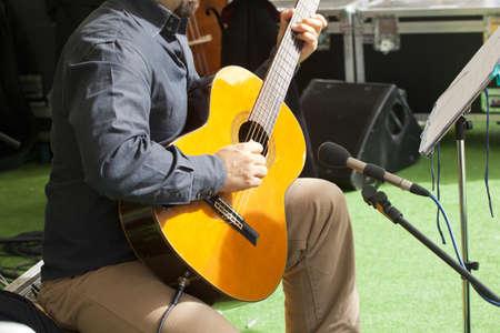 Guitar hero Stock Photo - 11635532