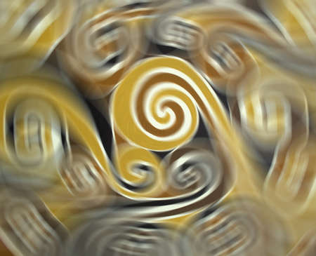 brillant: Background with various colorful spirals Stock Photo